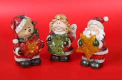 Figurines 4 di natività Immagine Stock