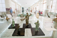 Figurines of ancient Persia in the National Museum of Iran Royalty Free Stock Photo