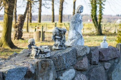 Figurines of angels Royalty Free Stock Images