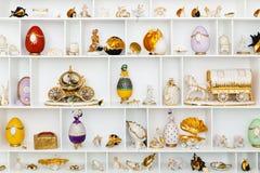 Figurines cerâmicos Foto de Stock Royalty Free
