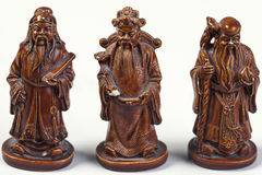 Figurines chineses imagem de stock