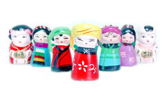 Figurines cinesi Fotografia Stock Libera da Diritti