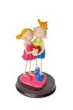 Figurines con cuore Immagine Stock Libera da Diritti