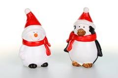 Figurines de Noël Photos libres de droits