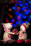 Figurines de Noël Photographie stock