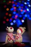 Figurines de Noël Photographie stock libre de droits