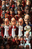Figurines de souvenir de pape Francis, évêque de Rome photo stock