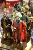figurines della porcellana del ricordo Fotografie Stock Libere da Diritti