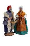 Figurines di Santon Fotografia Stock Libera da Diritti