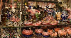 Figurines en céramique des derviches Photos libres de droits
