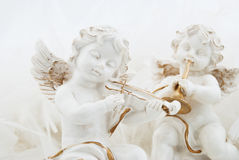 Figurines in the form of the angel Royalty Free Stock Photo