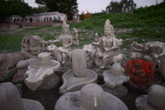 Figurines Krishna Стоковое Изображение RF