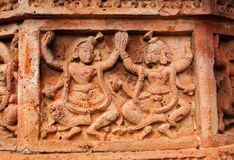 Figurines made of terracotta, Bishnupur , India Stock Photos