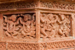 Figurines made of terracotta, Bishnupur , India Royalty Free Stock Photography
