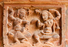 Figurines made of terracotta, Bishnupur , India Royalty Free Stock Photo