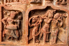 Figurines made of terracotta, Bishnupur , India Stock Photography
