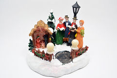 Figurine Christmas Carols Stock Photography