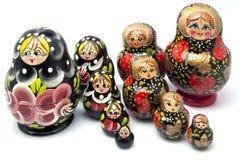 Figurines russes Photo stock