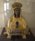Figurines in San Lorenzo Maggiore church, Naples, Italy Stock Photo