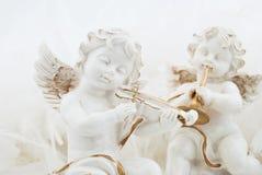 Figurines sob a forma do anjo foto de stock royalty free