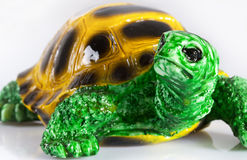 figurka ceramiczny żółw Zdjęcia Stock