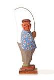 figurka drewniana Obrazy Stock