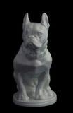 Figurki porcelany pies Fotografia Royalty Free