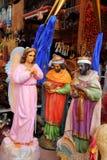 figurki wprowadzać na rynek meksykańskiej świątobliwej dziewicy Fotografia Stock