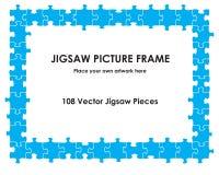 Figuurzaagomlijsting Stock Afbeeldingen