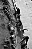 Fihermen vid den Guadalquivir floden 11 Arkivfoto