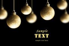 Fija decoraciones del Navidad-árbol Imagen de archivo