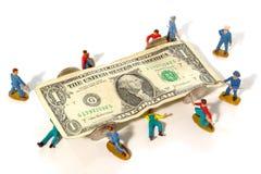 Fijación de la economía Fotos de archivo libres de regalías