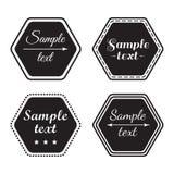 Fije de la plantilla de la muestra de la tienda, letreros Ilustración del vector stock de ilustración