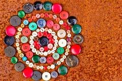 Fije de los botones de la vendimia Imagen de archivo libre de regalías