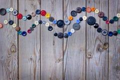 Fije de los botones de la vendimia Foto de archivo