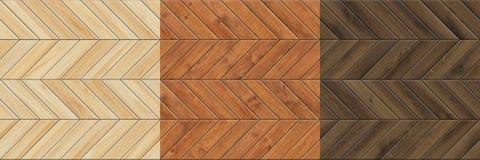 Fije de texturas inconsútiles de alta resolución del entarimado de madera Modelos de Chevron foto de archivo