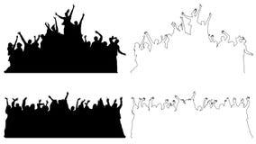 Fije del baile que celebra a gente libre illustration