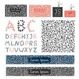 Fije el ornam elegante caligráfico del diseño de los flourishes de lujo de los elementos Foto de archivo