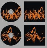 Fije el vector cd Fotos de archivo