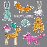 Fije a Forest Animals libre illustration