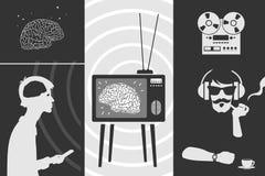 Fije la propaganda stock de ilustración