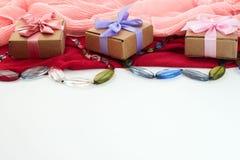 Fije los accesorios para la compra de la moda de las mujeres Fotos de archivo libres de regalías