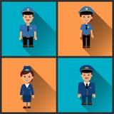 Fije los caracteres de los iconos Imagenes de archivo
