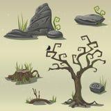 Fije los elementos para el pantano de la ubicación del juego de ordenador