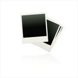 Fije los espacios en blanco de la película del vector Fotos de archivo