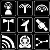 Fije los iconos - ordenador, Web, Internet, tecnología Foto de archivo libre de regalías