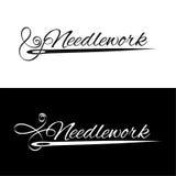 Fije los logotipos Foto de archivo libre de regalías