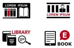 Fije los símbolos de la educación Imagenes de archivo