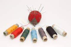 Fije para coser Fotografía de archivo libre de regalías