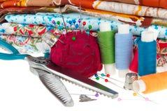 Fije para coser Imagen de archivo libre de regalías
